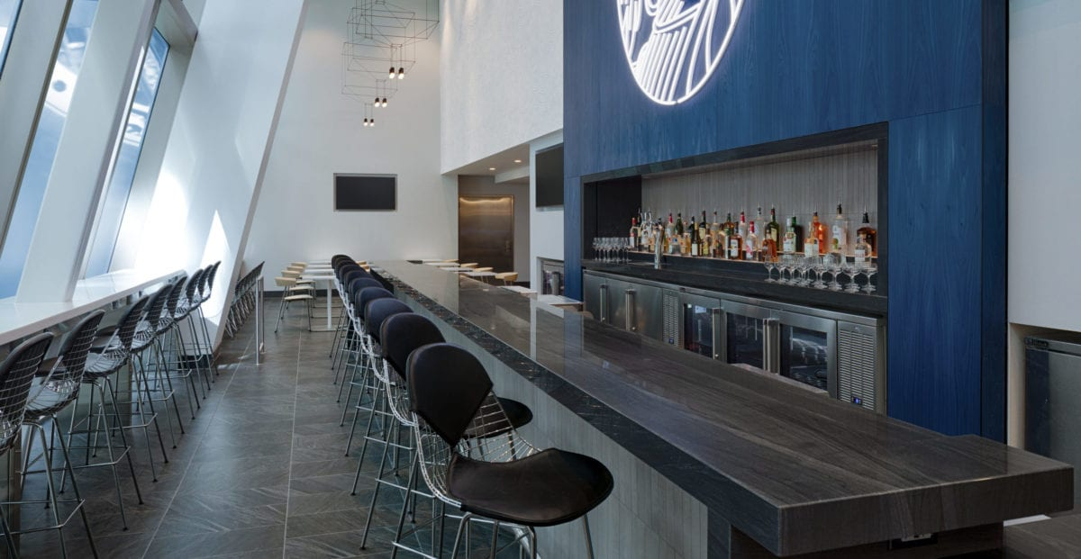 Complimentary Full Bar at Centurion Lounge at LAX 1 scaled e1583428251493