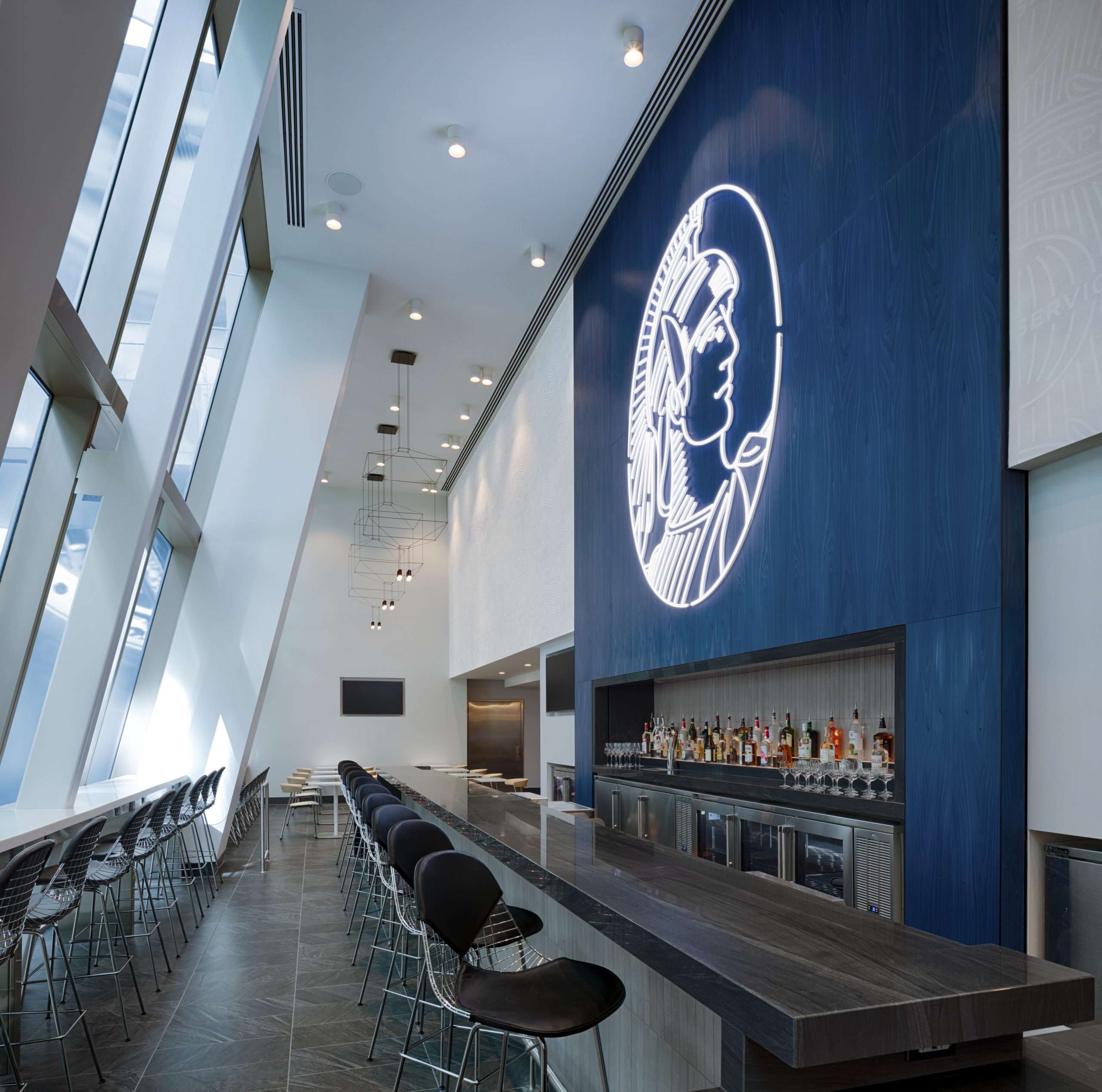 Complimentary Full Bar at Centurion Lounge at LAX scaled