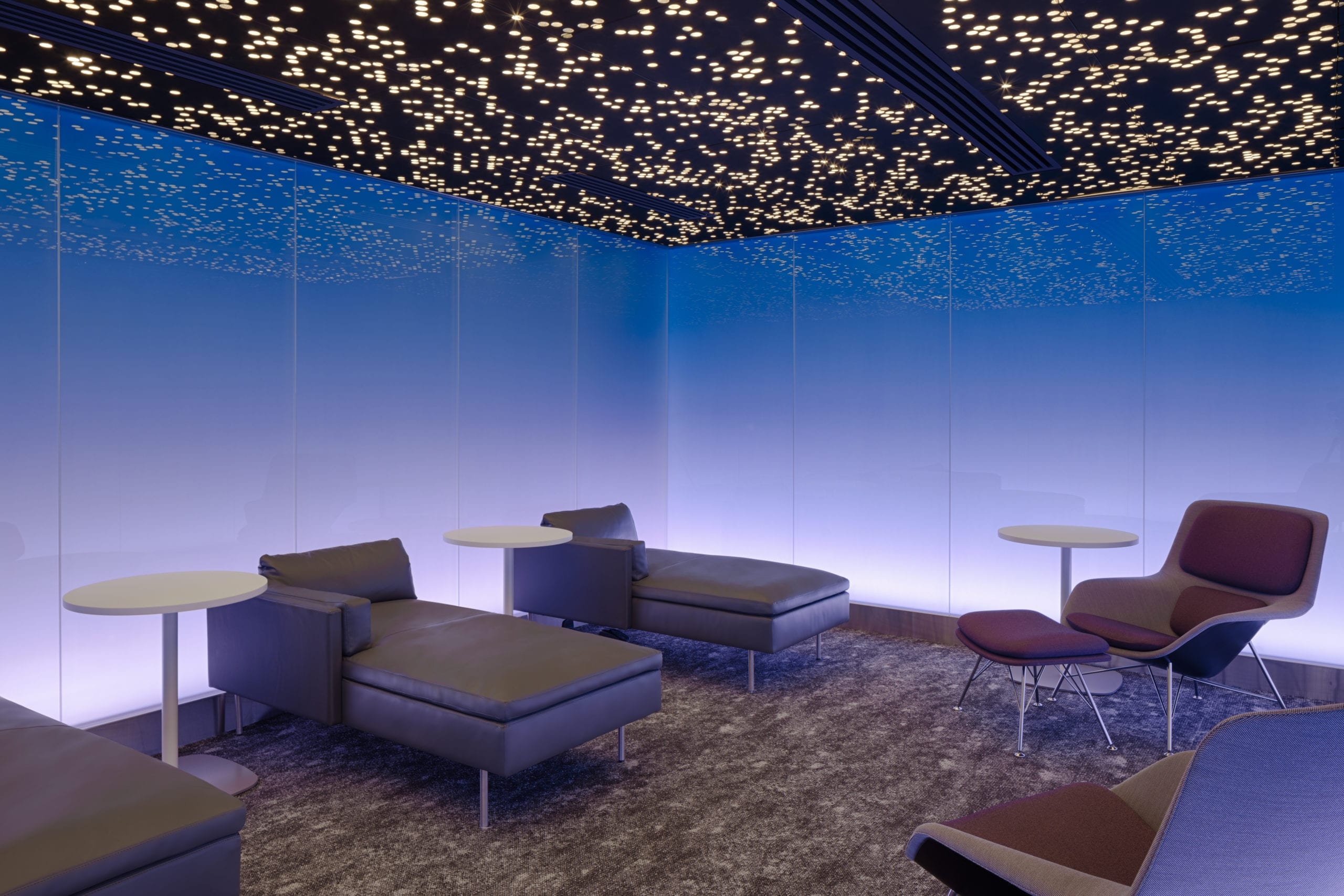 Moonrise Tranquility Room at Centurion Lounge at LAX scaled
