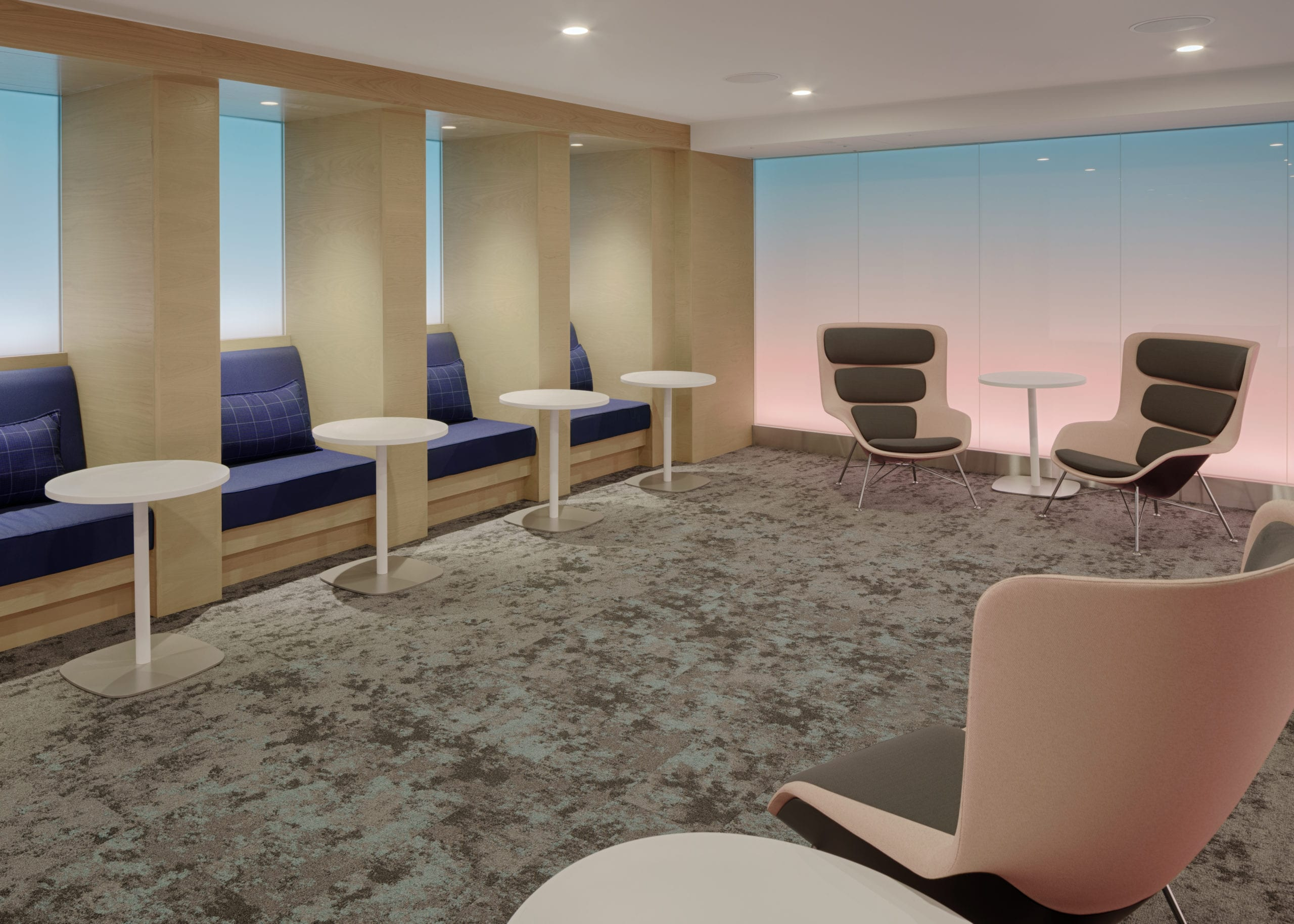 Sunrise Tranquility Room at Centurion Lounge at LAX scaled