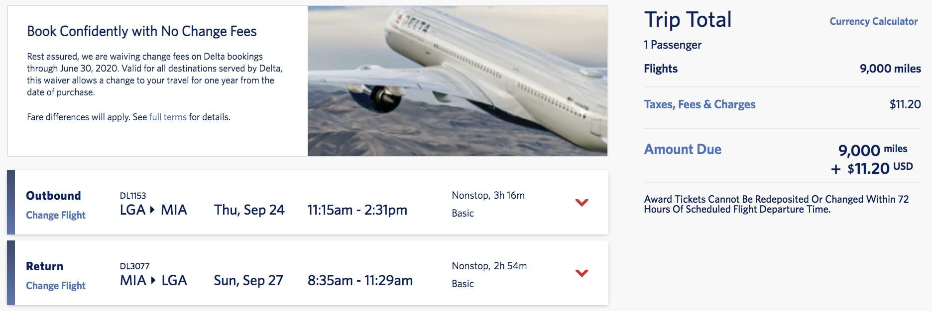 domestic skymiles deal