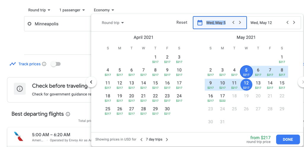 when can i book flights