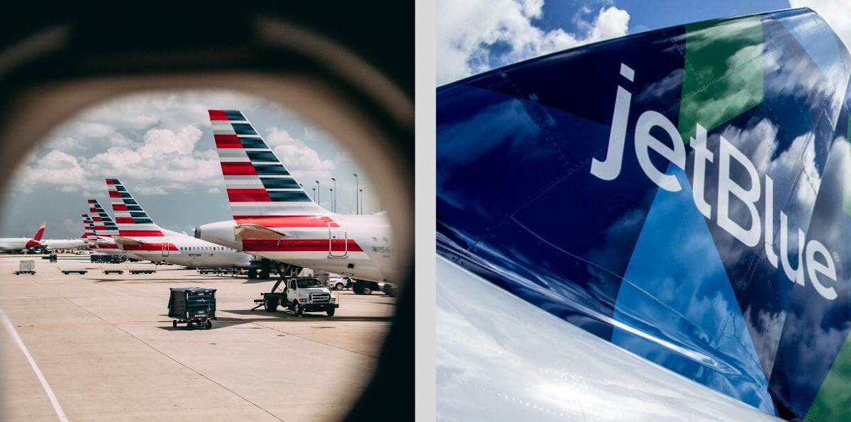 American Airlines & JetBlue Team Up with New Partnership