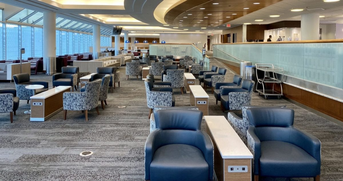 VIDEO: Airport Lounges Are Very, Very Strange During COVID-19