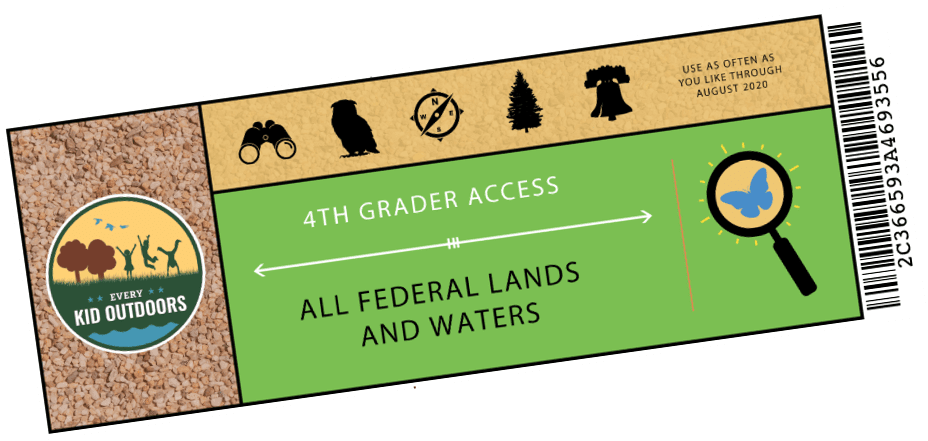 4th grade national park pass