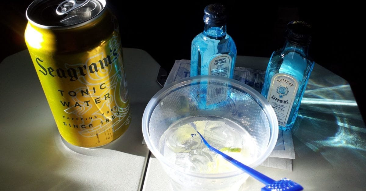 bring alcohol on a plane