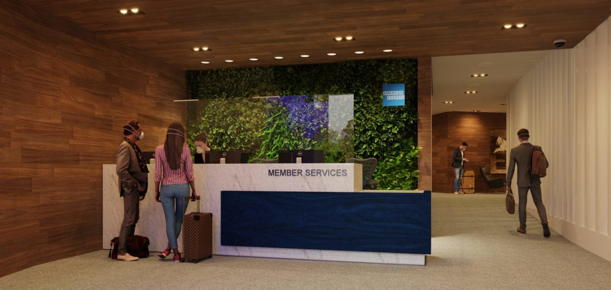 Amex Centurion Lounge reopen