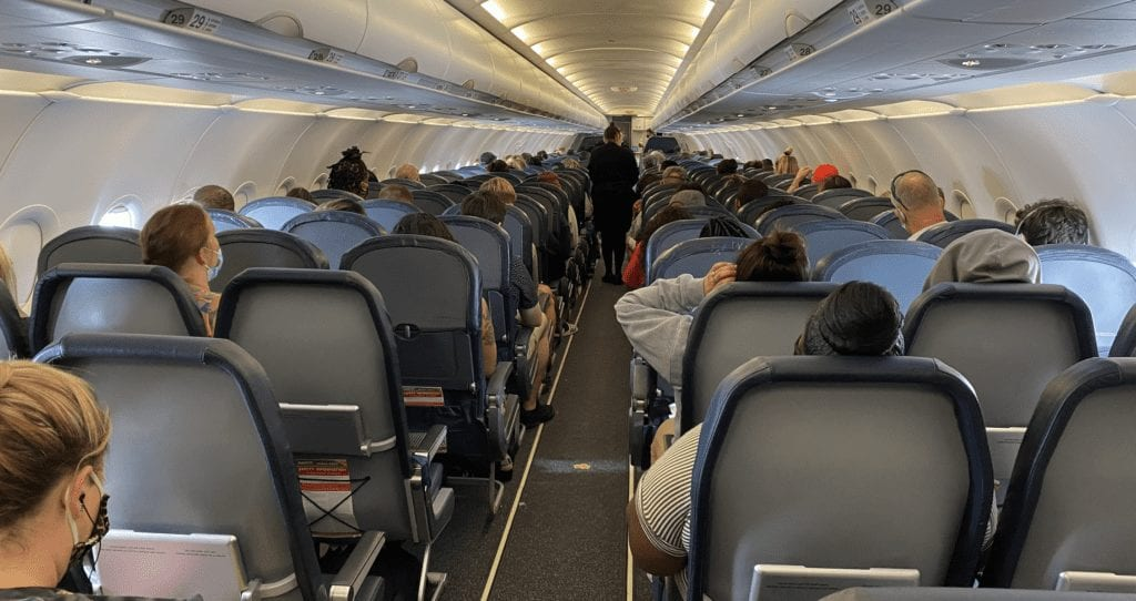 airlines block middle seats