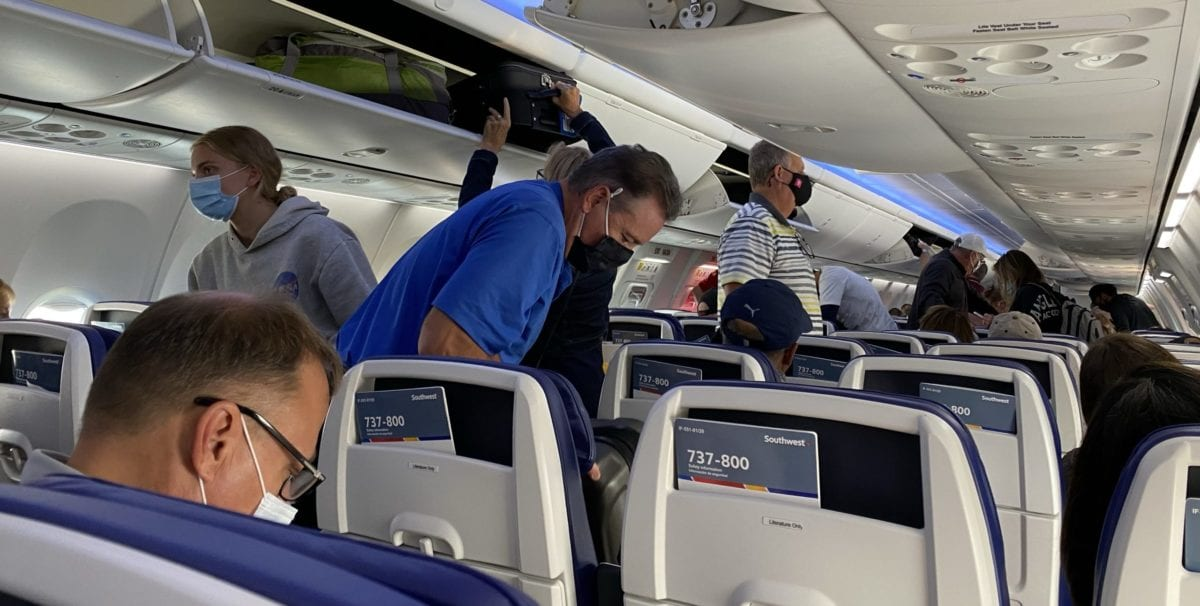 southwest blocking seats
