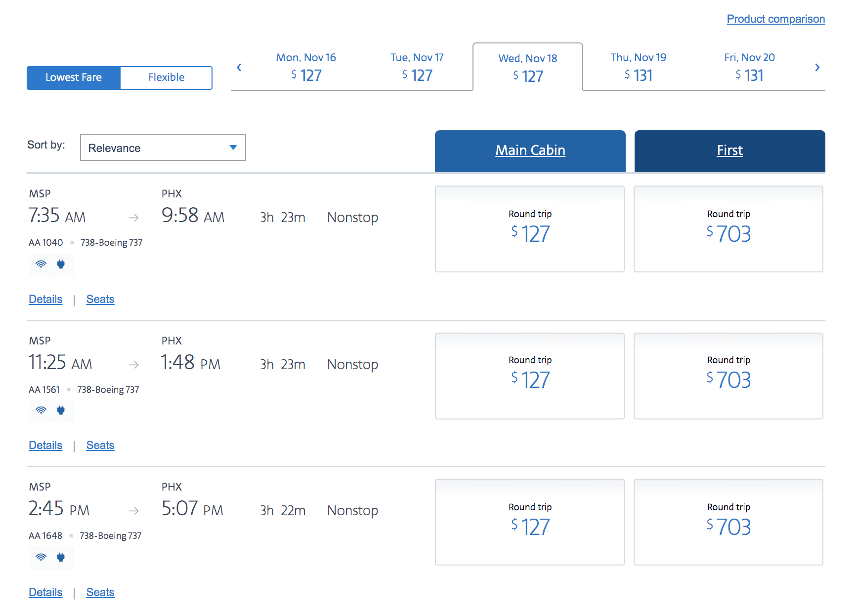 American airlines basic economy fares