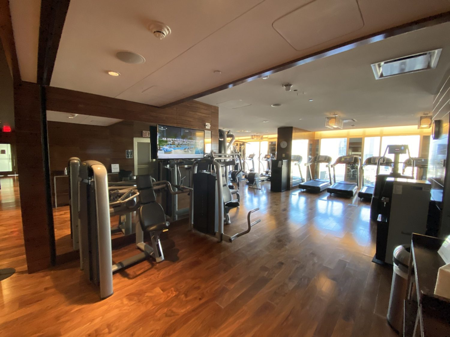 waldorf astoria las vegas gym