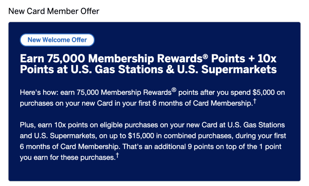 Best Ever Offer on the Amex Platinum Card