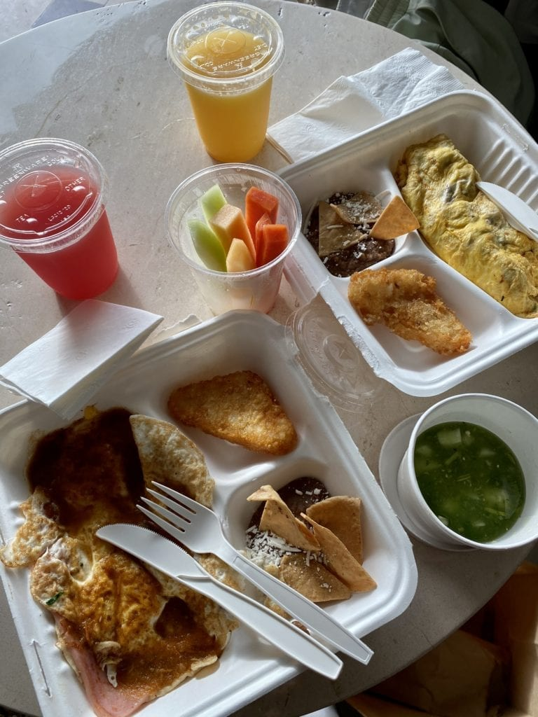 Mexico all-inclusive resort room service