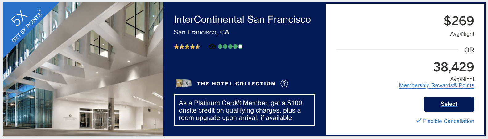 hotel collection amex hotel offers