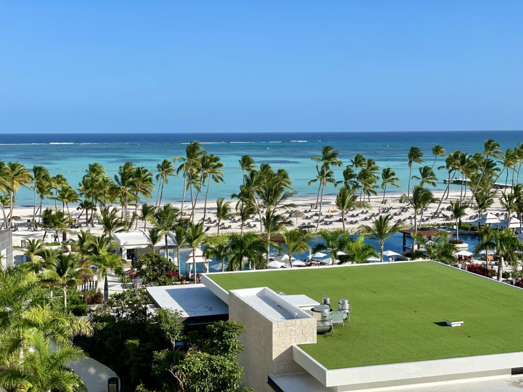 hyatt ziva and zilara cap cana balcony view