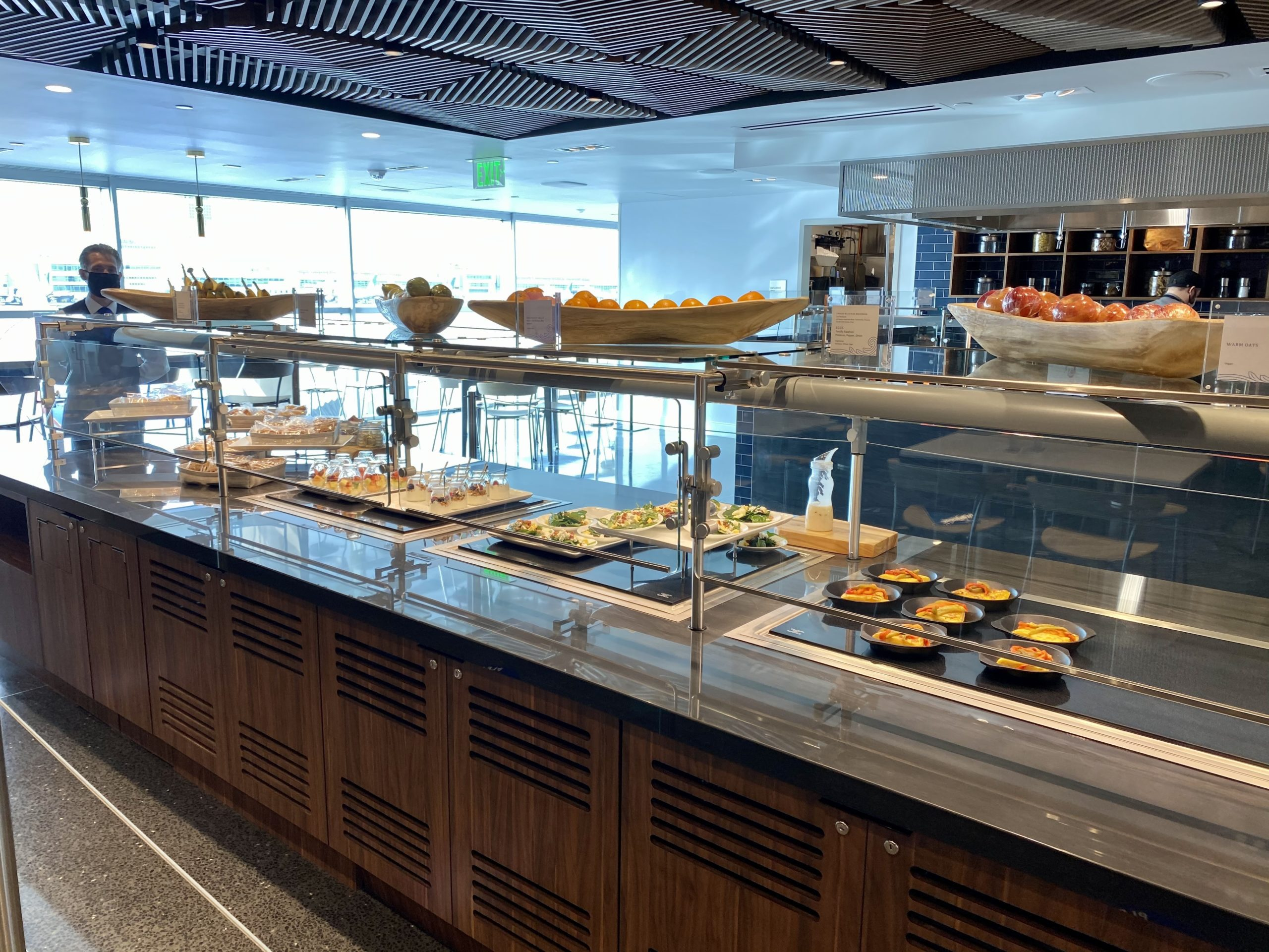 denver centurion lounge food