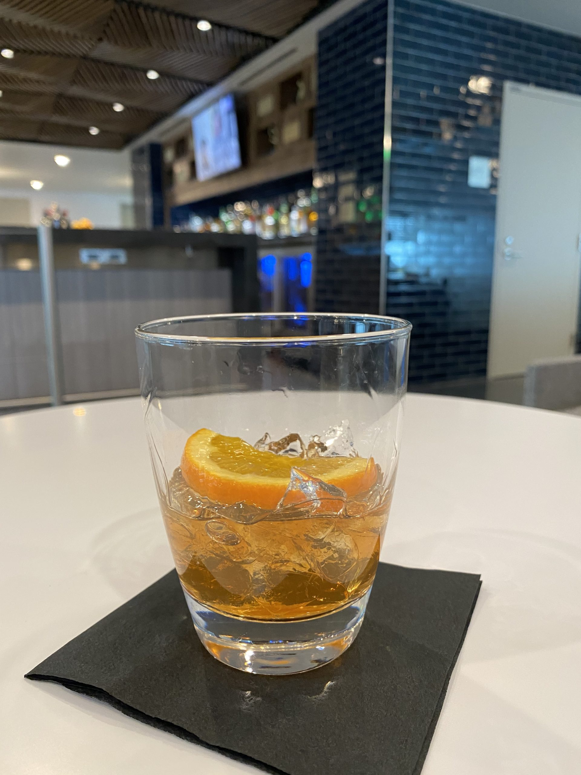 denver centurion lounge cocktail