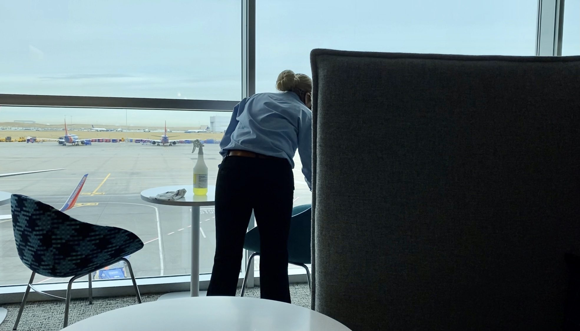 denver centurion lounge cleaning