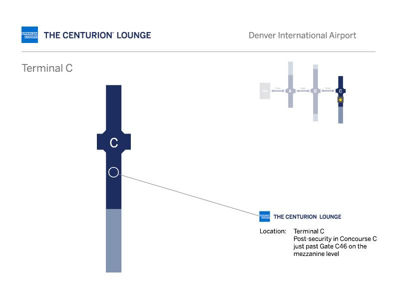 denver centurion lounge location