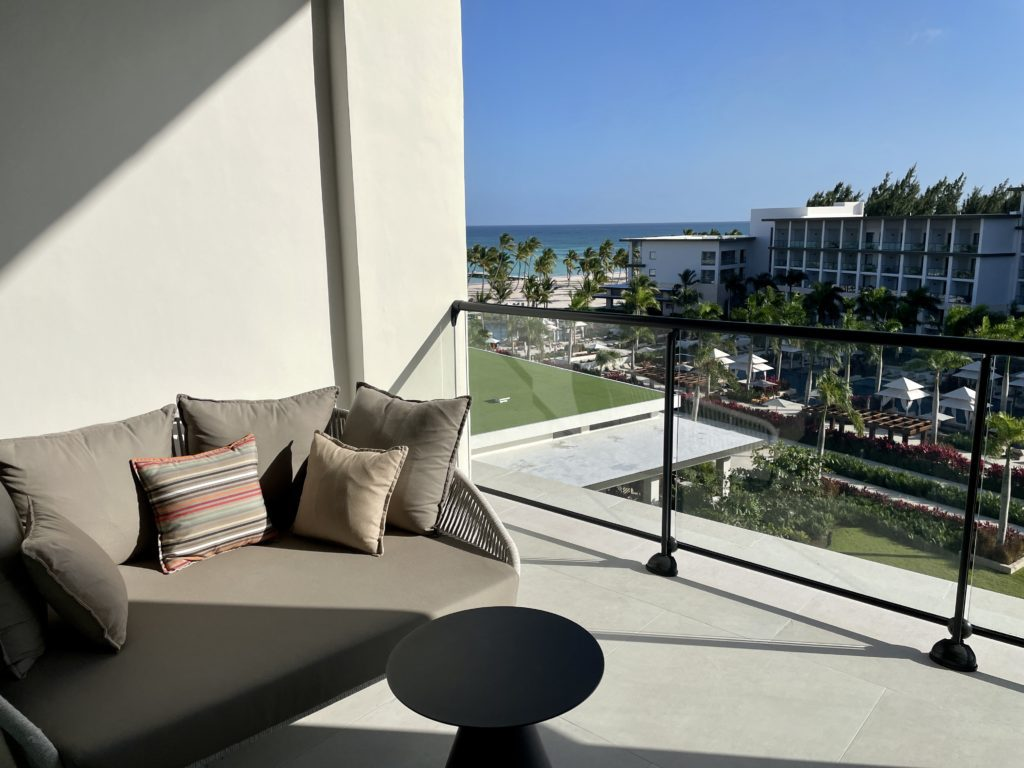 hyatt ziva and zilara cap cana balcony