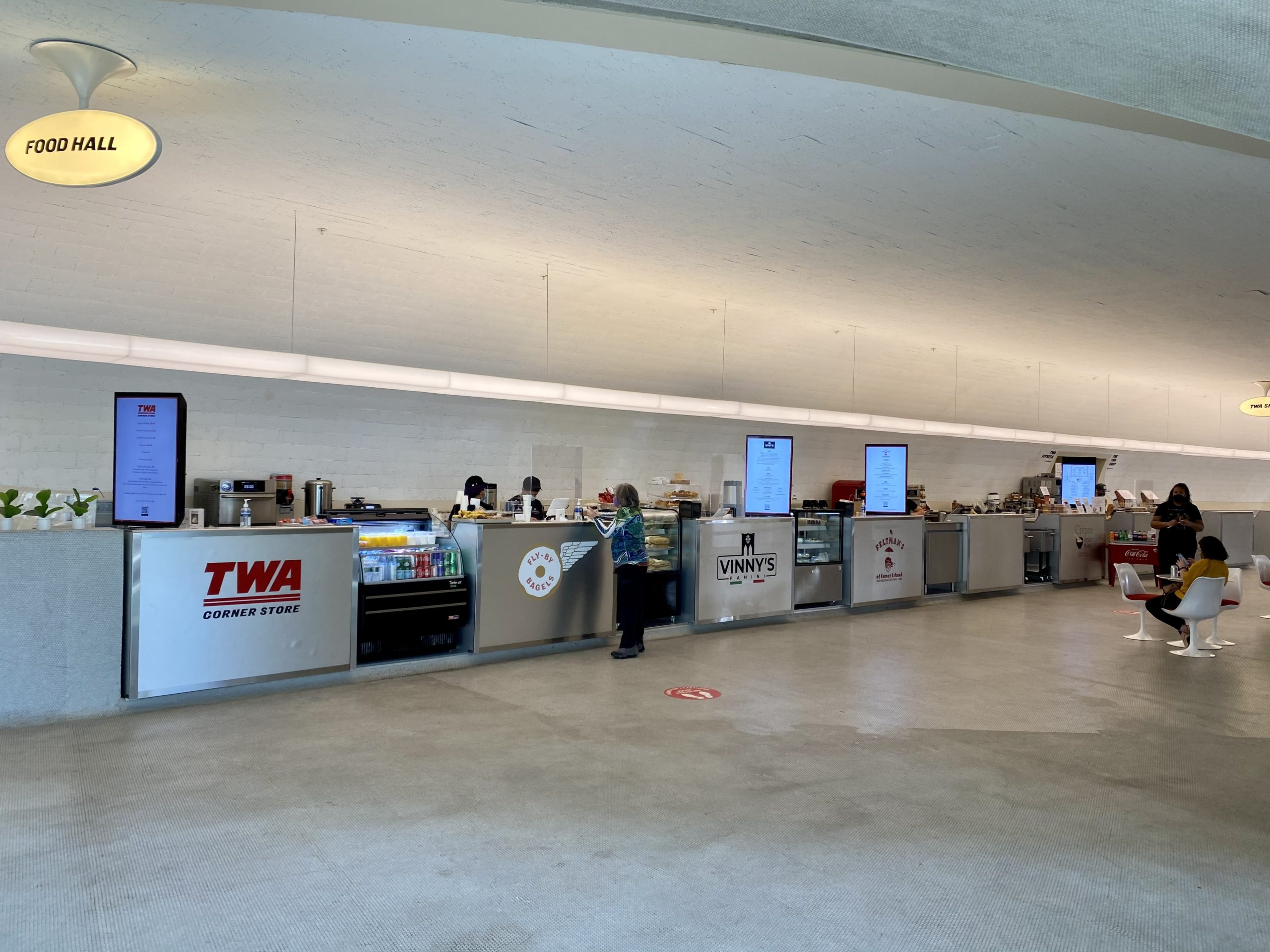 twa hotel food hall