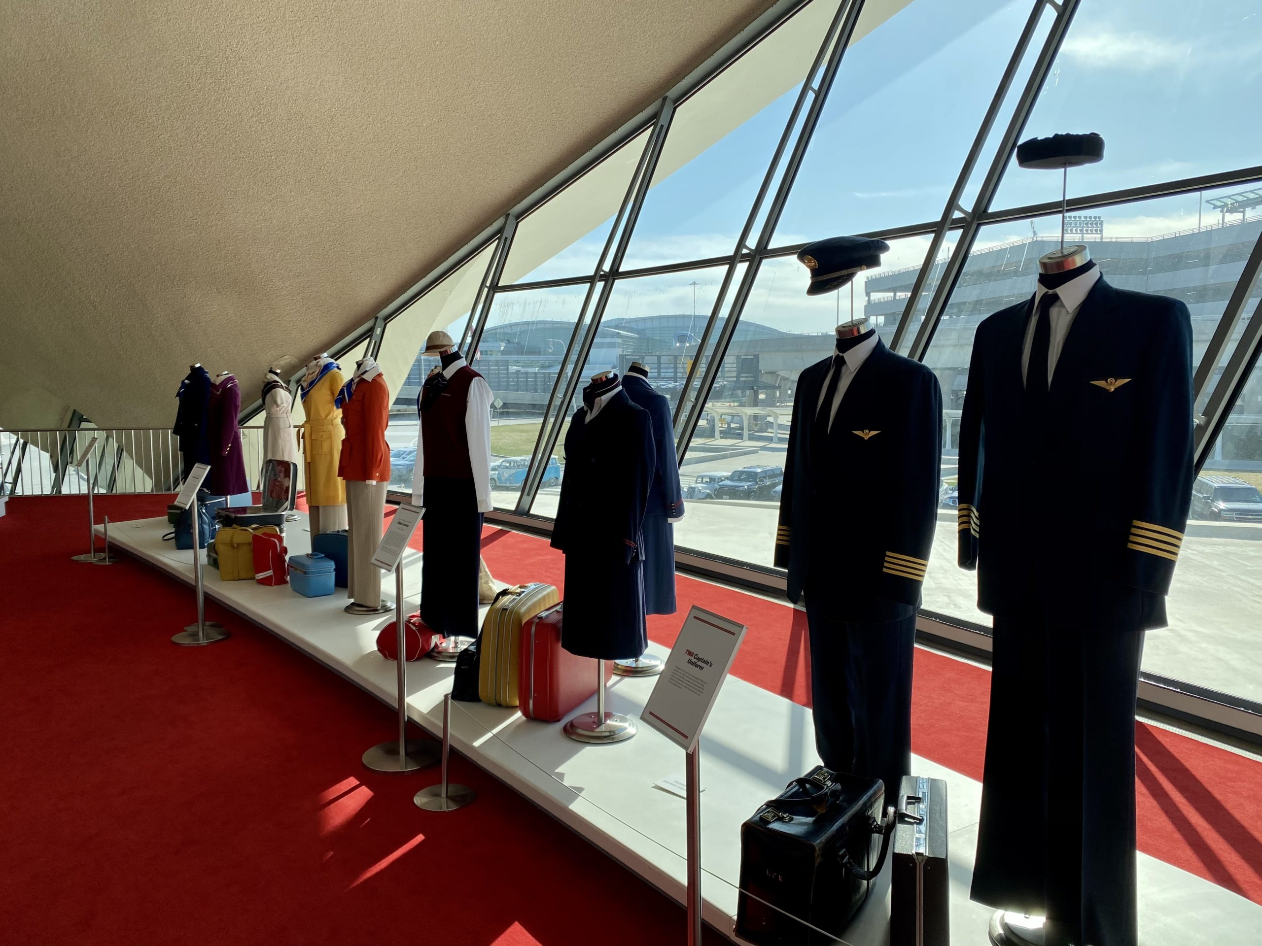 twa hotel flight attendant uniforms