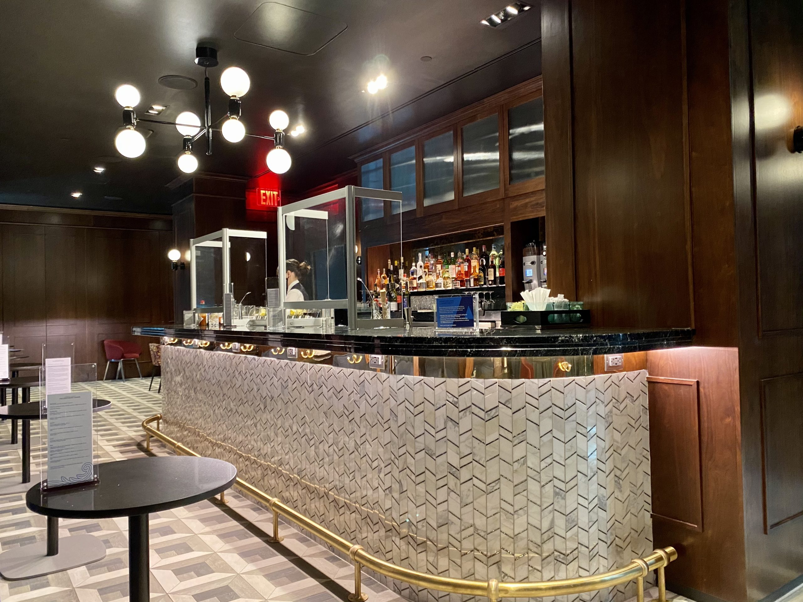 JFK Centurion Lounge speakeasy