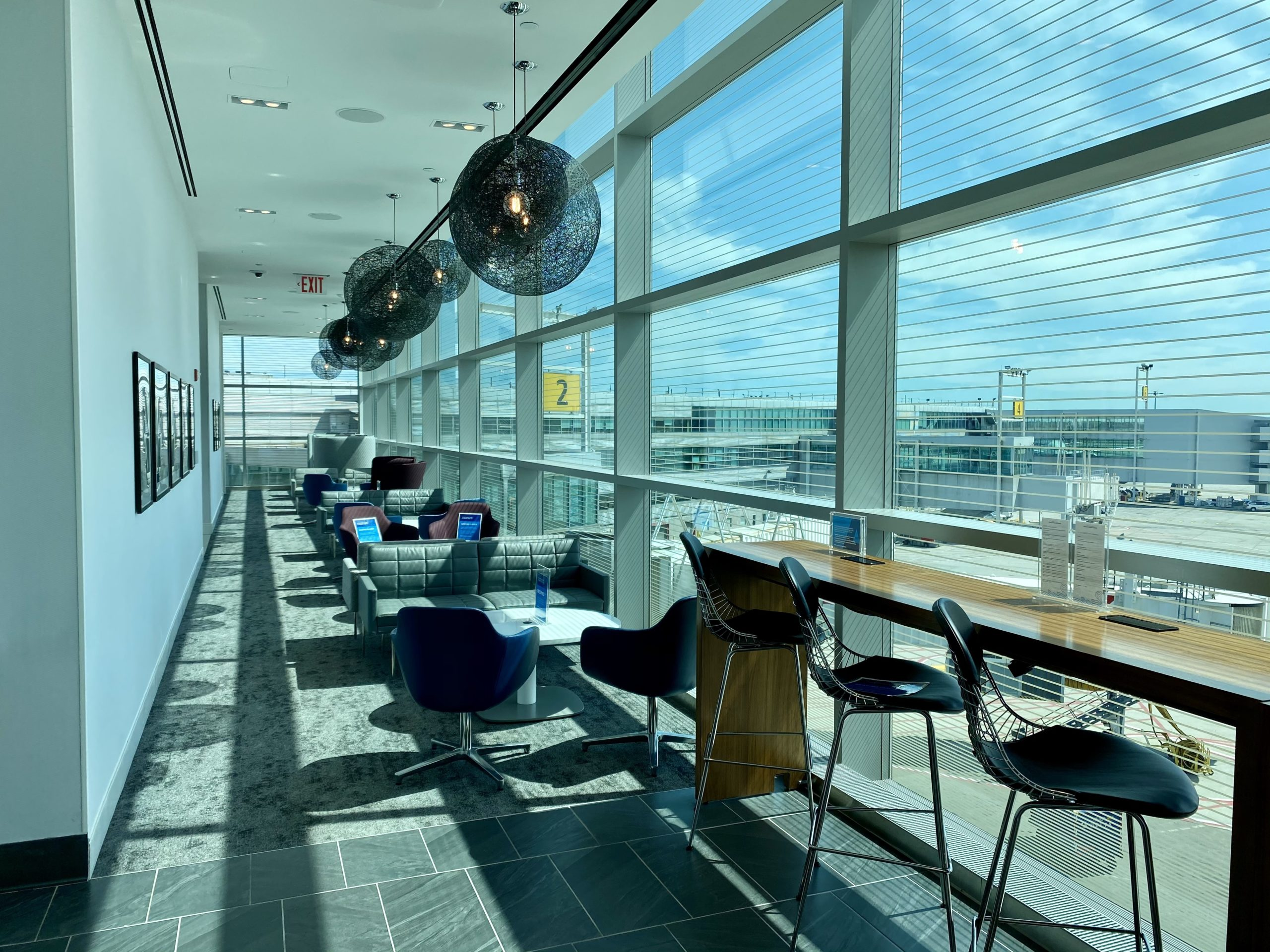 JFK Centurion Lounge seating