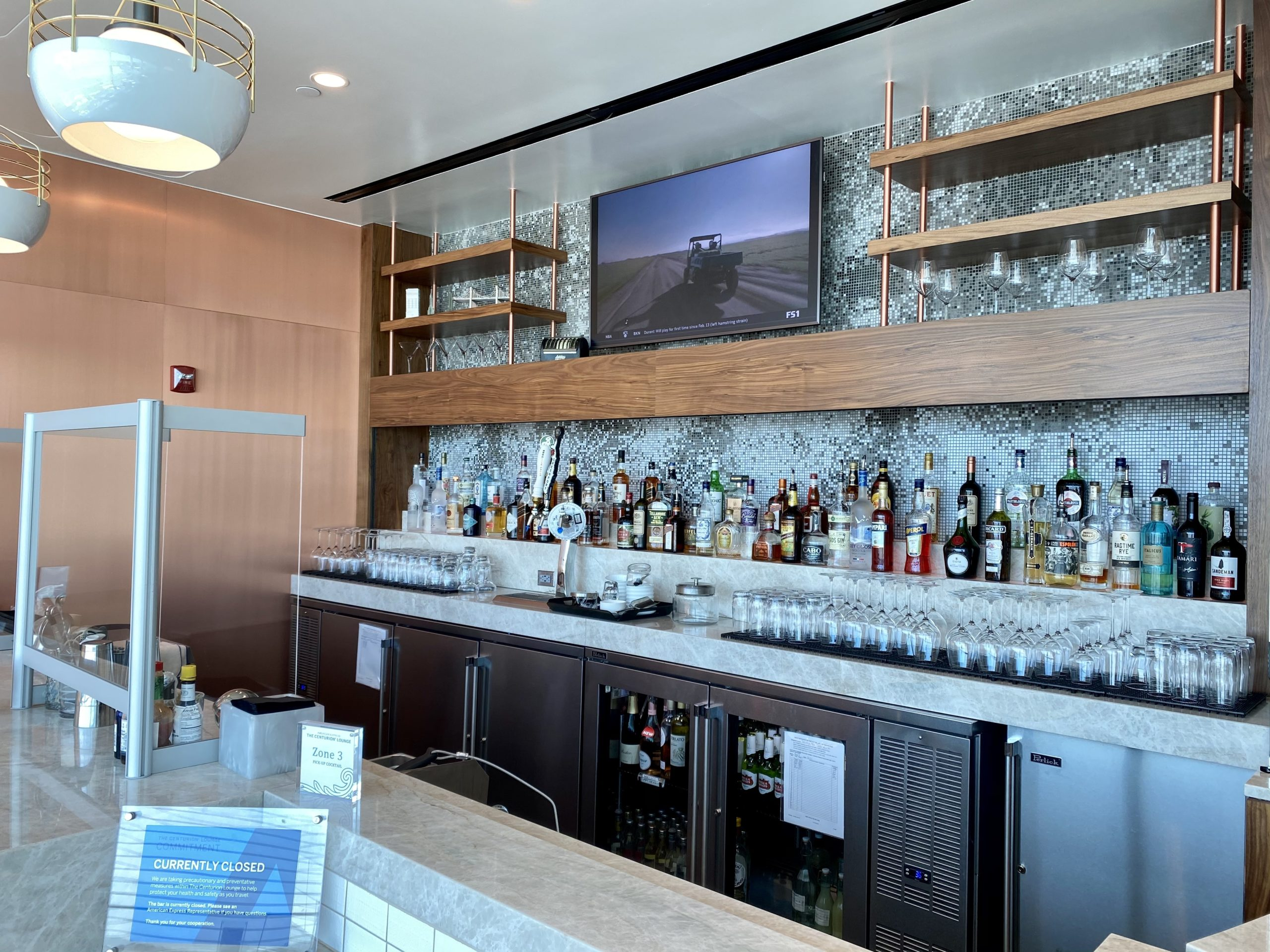 JFK Centurion Lounge bar