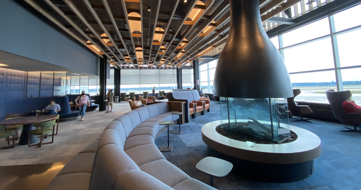 An Epic Design: Review of the Flagship Alaska Lounge Seattle