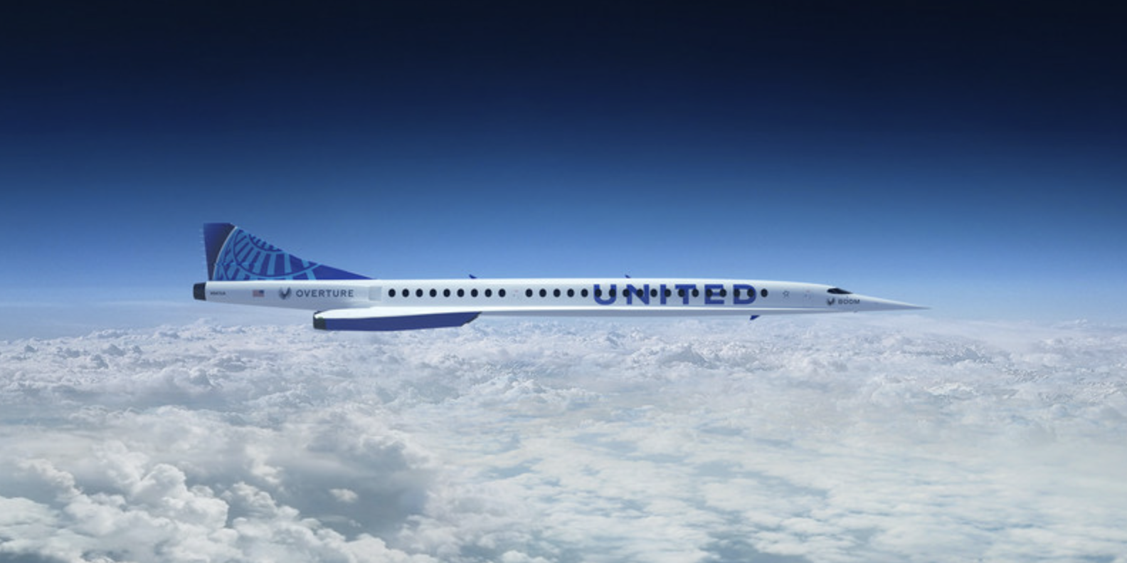 United Sets Sights on Supersonic Flights with New Aircraft Order